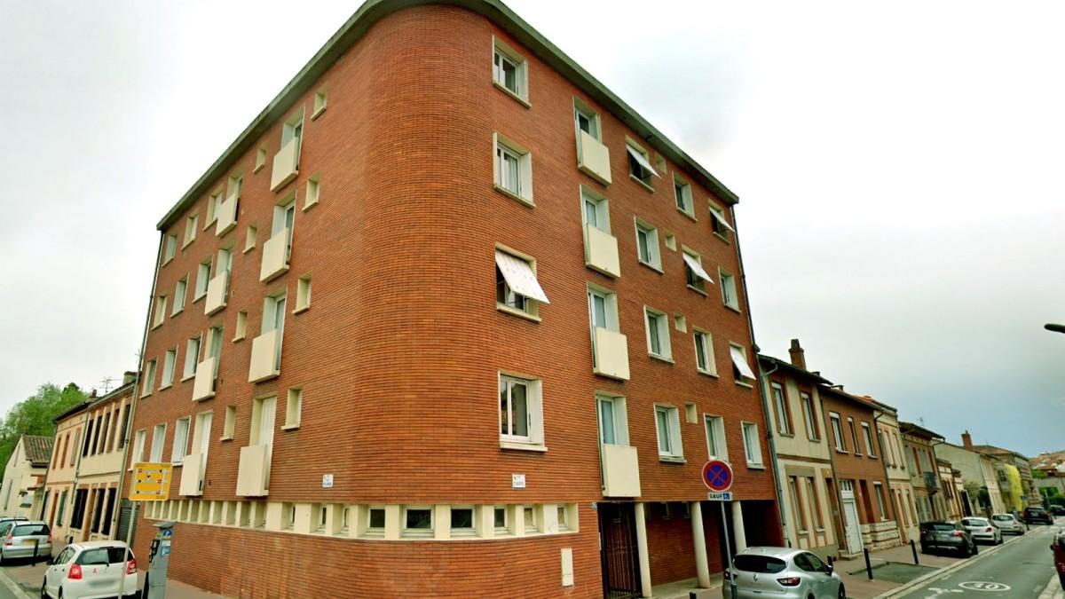 immobilier neuf toulouse le busca - Des bâtiments typiques de Toulouse situé dans le quartier du Busca