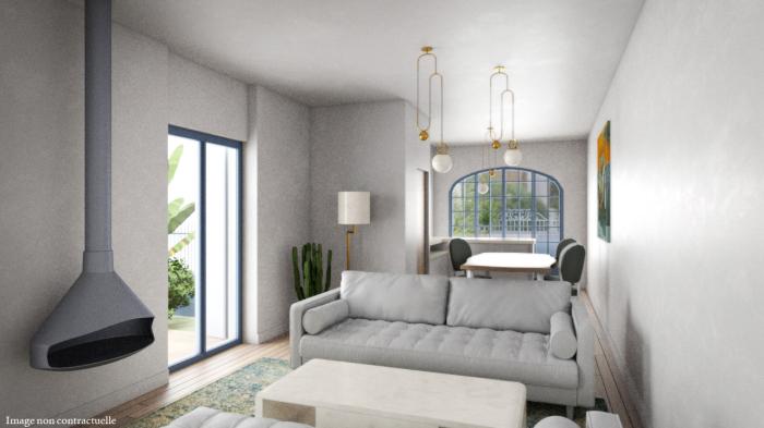 Appartements neufs La Roseraie référence 4730 : aperçu n°2