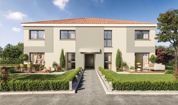 Maisons neuves Auzeville-Tolosane référence 4724 : aperçu n°0
