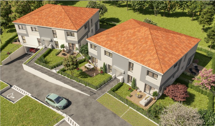 Maisons neuves Auzeville-Tolosane référence 4724 : aperçu n°5