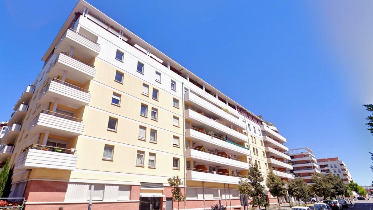 immobilier neuf toulouse Ponts Jumeaux- Un immeuble moderne et contemporain construit sur 6 étages à Toulouse Ponts-Jumeaux