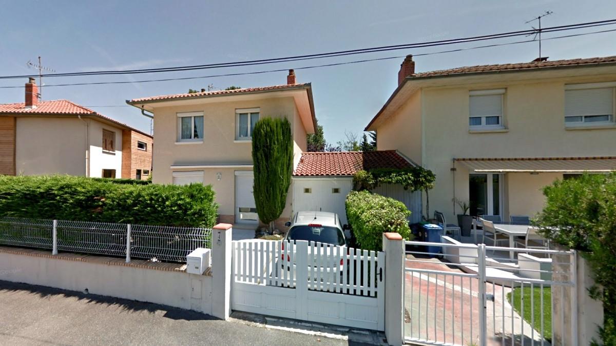 immobilier neuf toulouse Purpan - Des maisons construites situées dans un environnement résidentiel à Toulouse Purpan