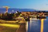 Rentabilité locative à Toulouse - L'Île de Nantes de nuit