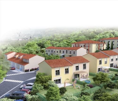 Appartements neufs Brax référence 5174