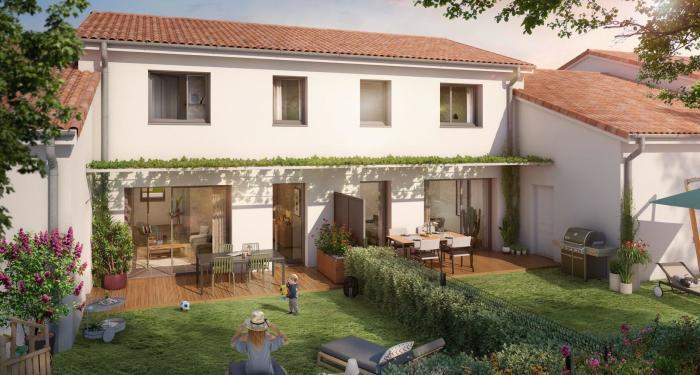 Maisons neuves et appartements neufs Pibrac référence 4741 : aperçu n°2