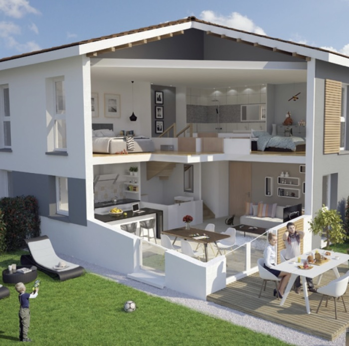Maisons neuves Castelmaurou référence 5160 : aperçu n°5