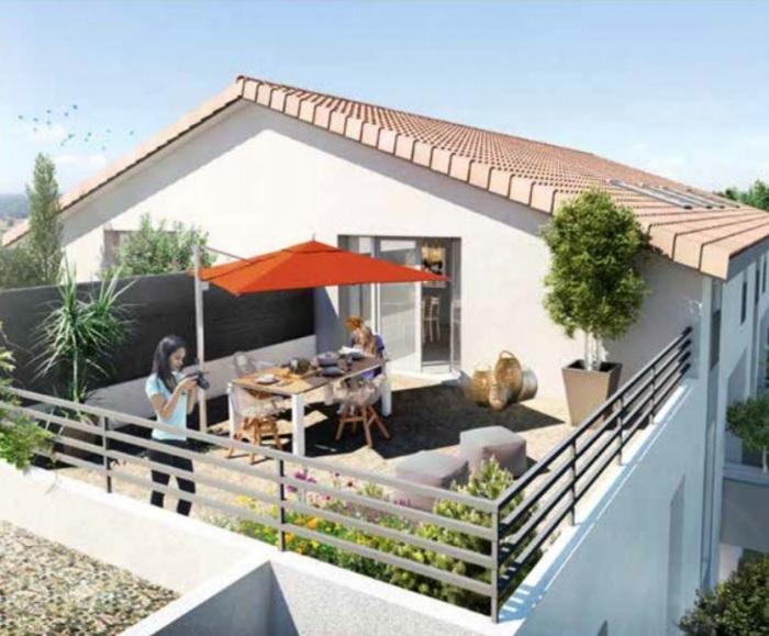 Appartements neufs Saint-Orens-de-Gameville référence 5055 : aperçu n°1