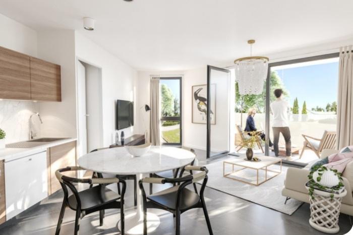 Appartements neufs Saint-Orens-de-Gameville référence 5055 : aperçu n°2