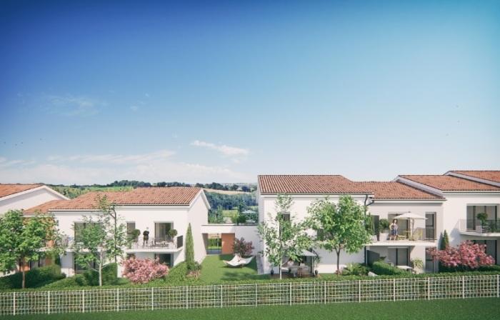 Appartements neufs Saint-Orens-de-Gameville référence 5055 : aperçu n°5