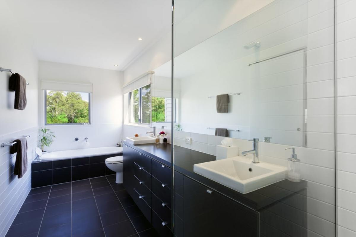 Maison VEFA - Salle de bain neuve