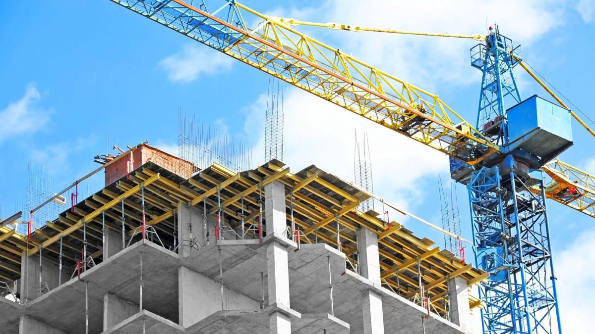 prêt immobilier toulouse - immeuble neuf en construction à Toulouse