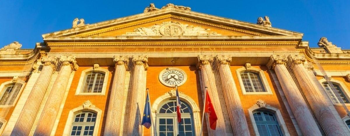 immobilier neuf toulouse - La place du Capitole à Toulouse