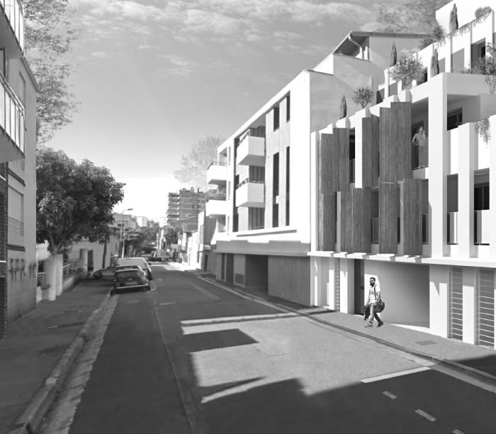 Appartements neufs Saint-Michel référence 4753 : aperçu n°3