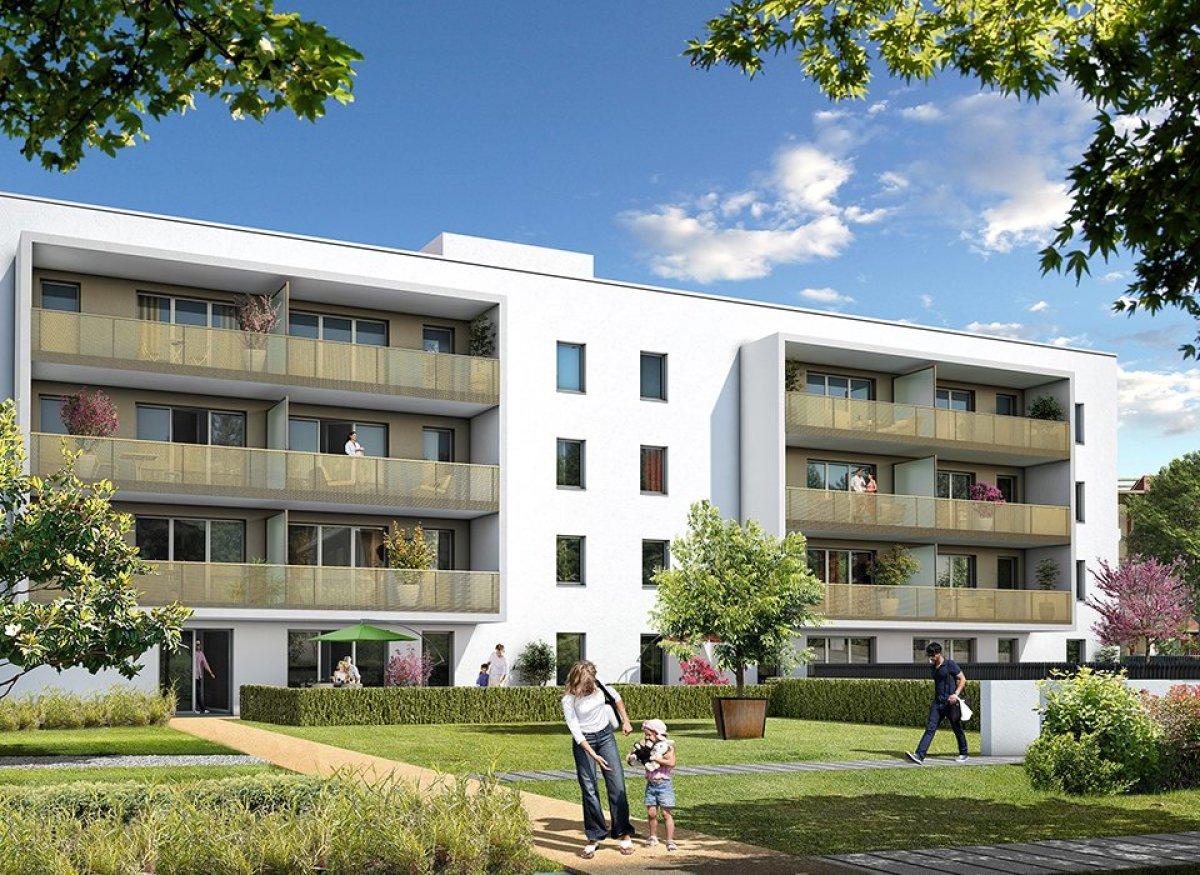 Vinci Immobilier - Balcons du programme neuf Le Menèla