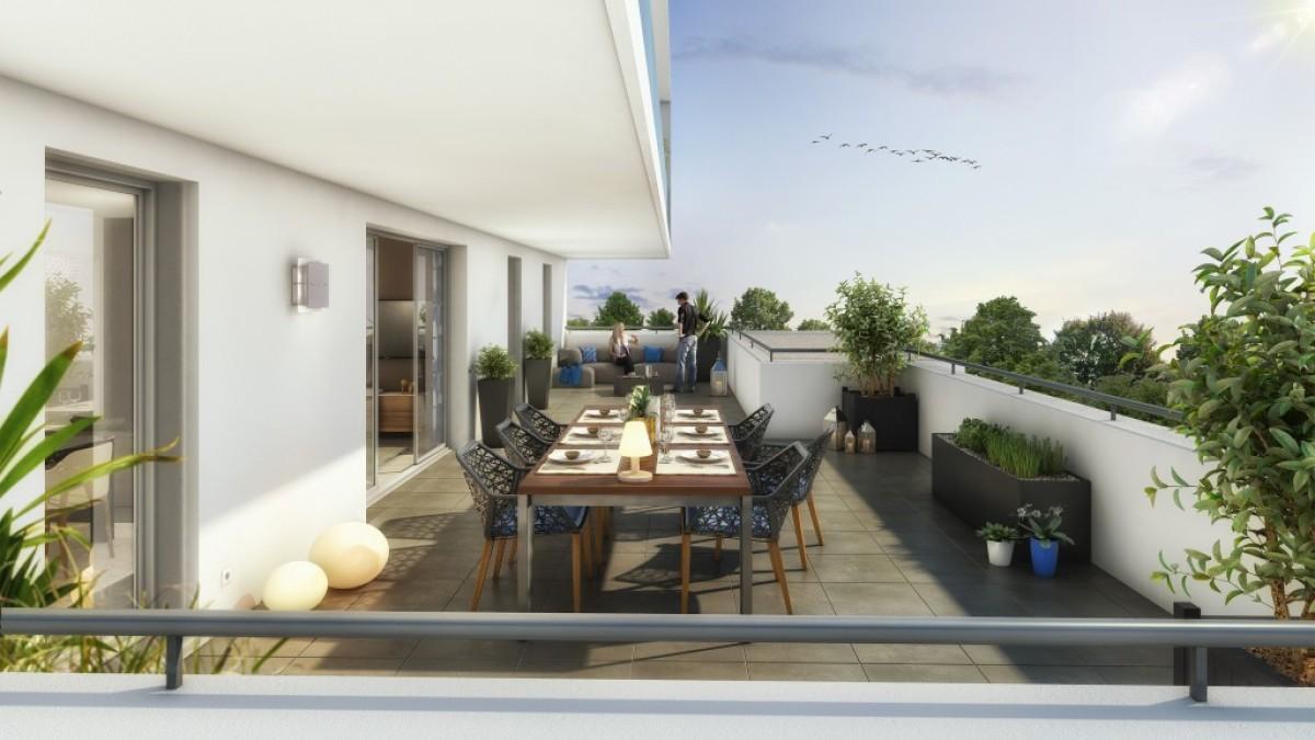 Vinci Immobilier - L'intérieur des appartements de Parc Madera construits par Vinci