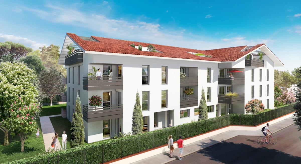 promoteur immobilier toulouse - Résidence Le Parc Lardenne à Toulouse