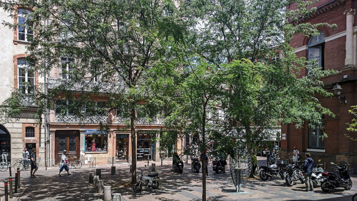 La place de la Bourse à Toulouse