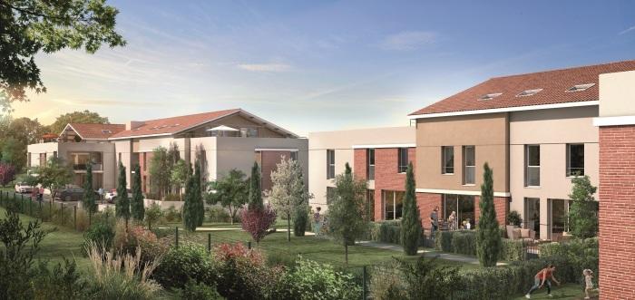 Appartements neufs Castanet-Tolosan référence 4756 : aperçu n°0