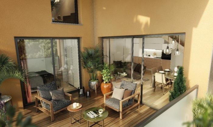 Appartements neufs Castanet-Tolosan référence 4756 : aperçu n°3