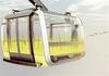 Téléphérique urbain Toulouse - Visuel 3D du téléphérique urbain de Toulouse