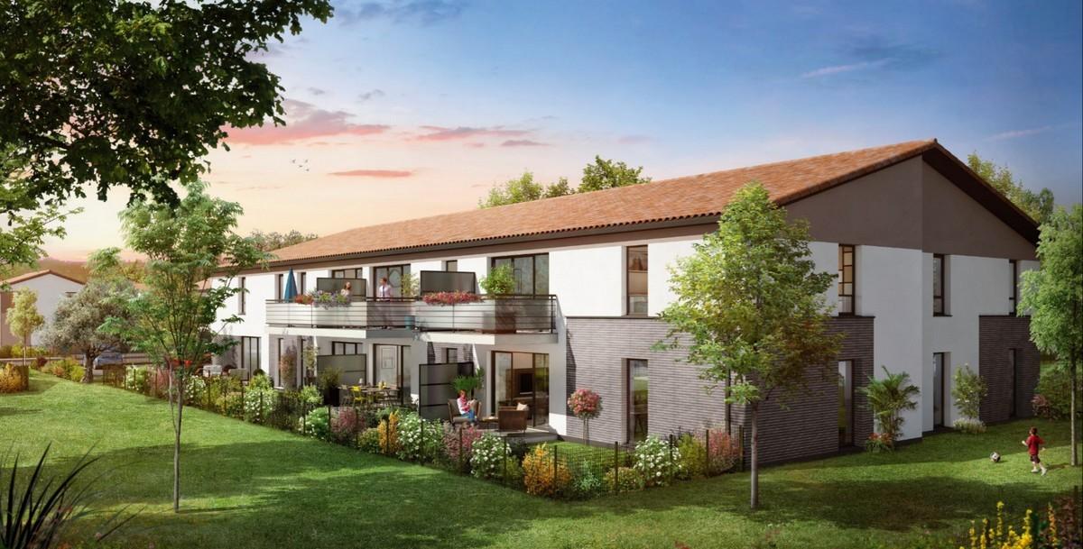 Saint-Agne Immobilier - Programme Les Jardins de Sienne à Toulouse