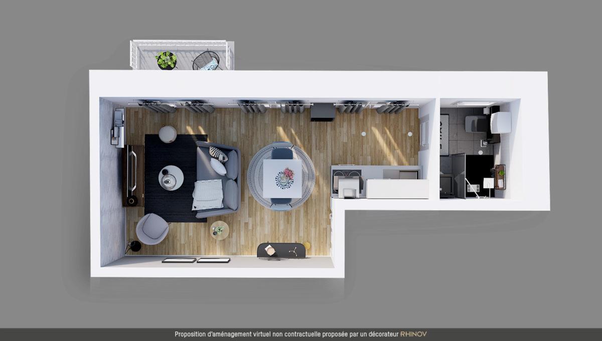 BSF Promotion - Plan de masse de la résidence Péri à Toulouse