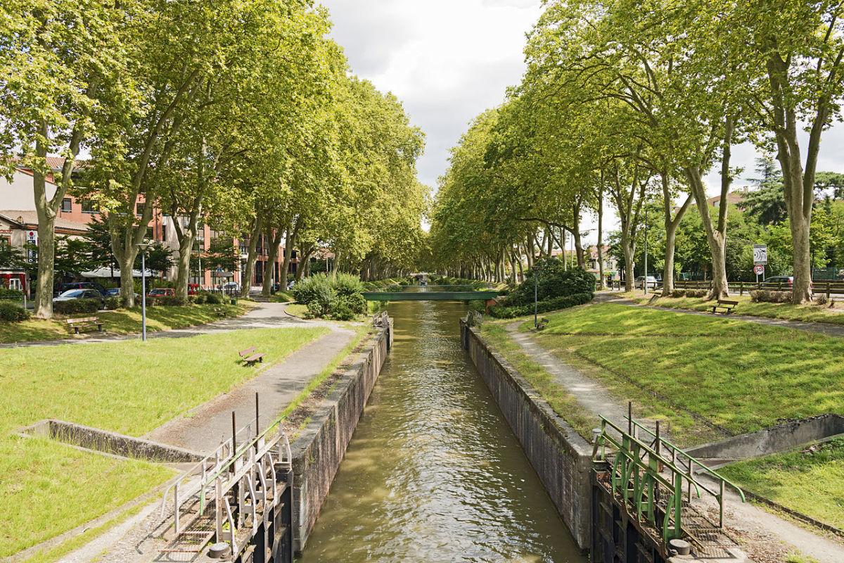 Canal de Brienne à Toulouse