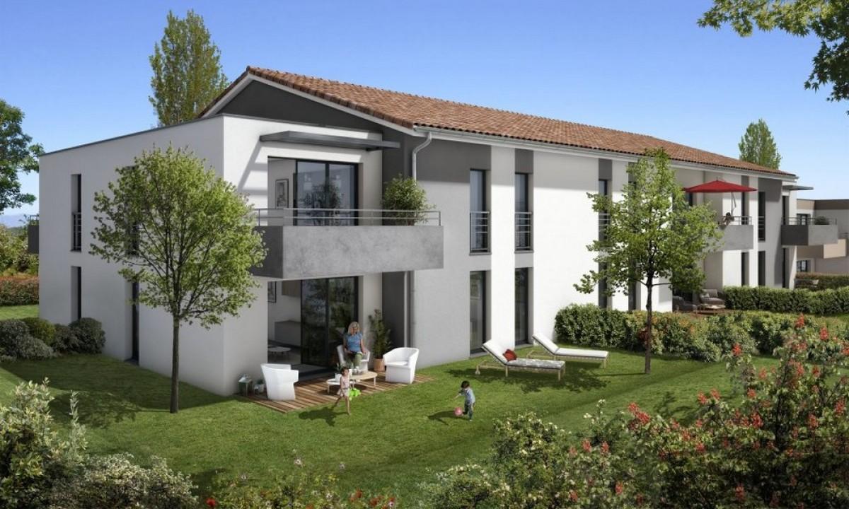 Domuci - La résidence Clos Saint-Pierre à Saint-Jory