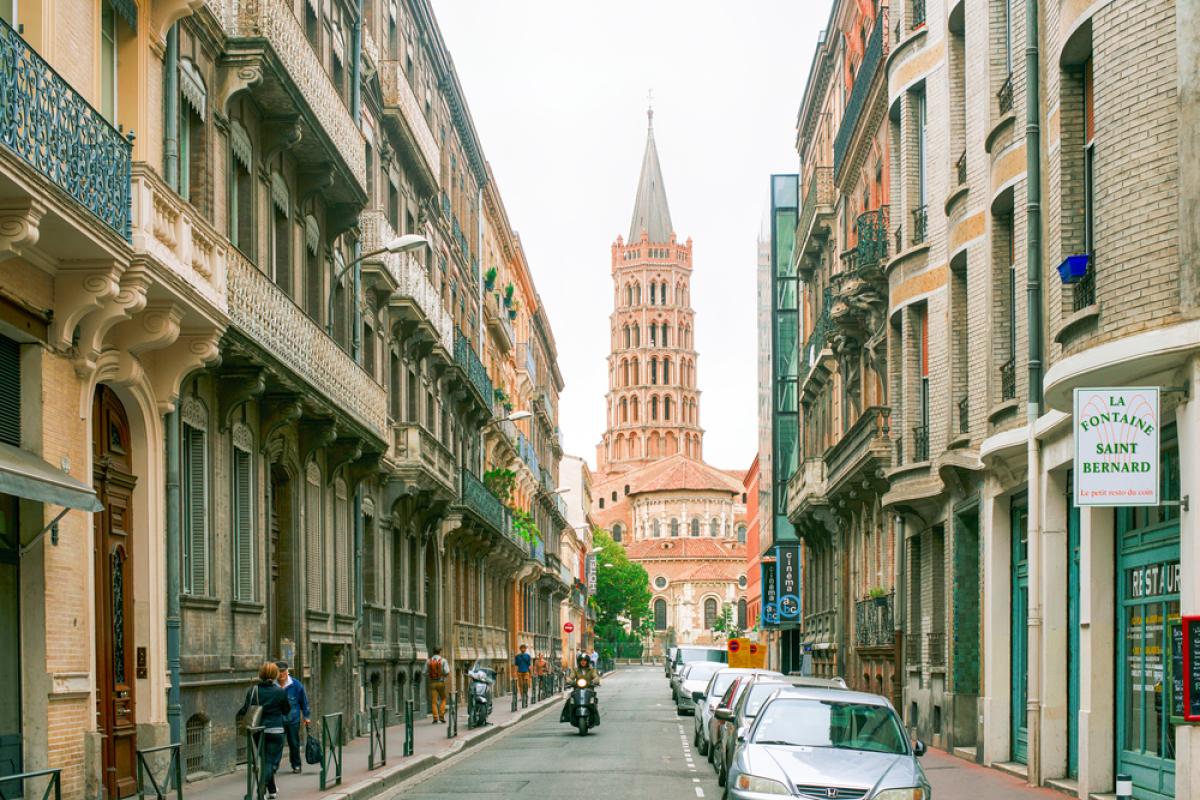 Toulouse éligible Pinel - La rue Saint-Bernard à Toulouse