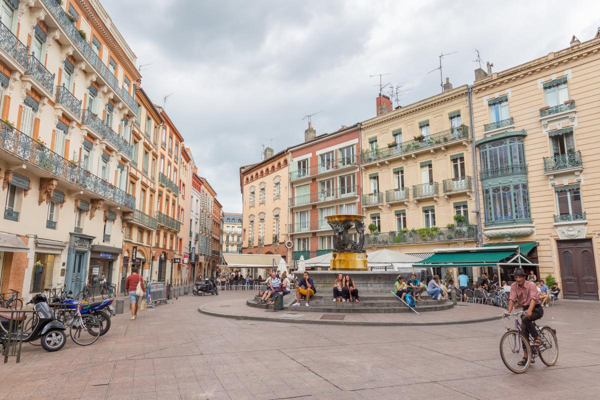 Toulouse éligible Pinel - Place de la Trinité à Toulouse