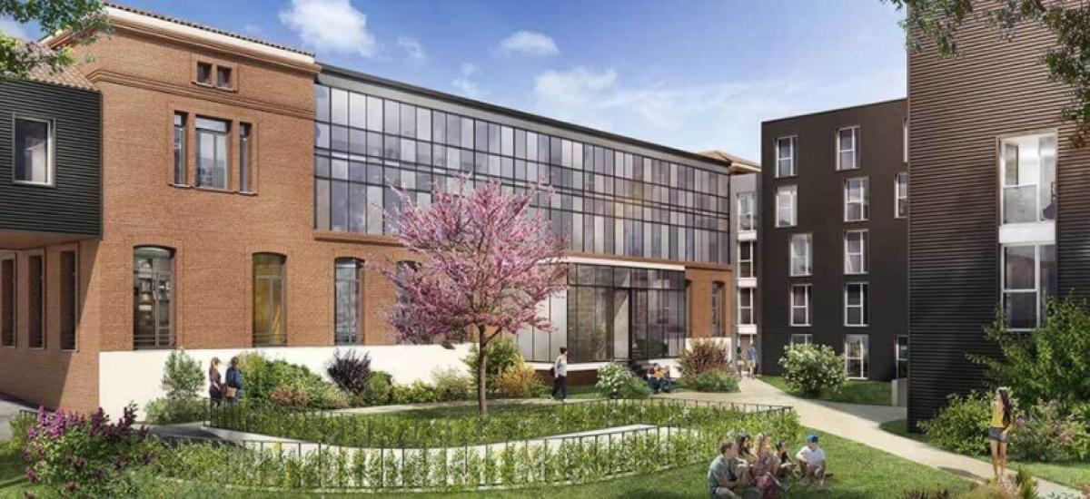 Bouygues Immobilier - la résidence Campus Saint-Michel par Bouygues Immobilier