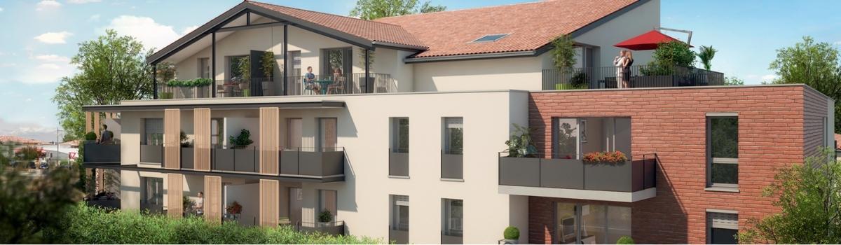Groupe Cailleau - Promoteur Immobilier à Toulouse - Résidence Clos Léonie