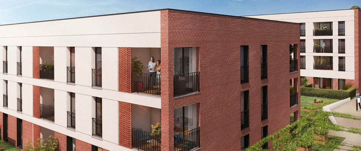 Carrere Immobilier - la résidence Faubourg Tolosa à Toulouse