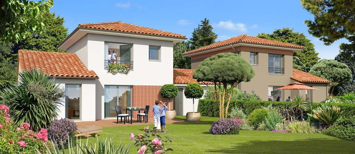 kaufman and broad - Les villas du programme Comté Tolosan