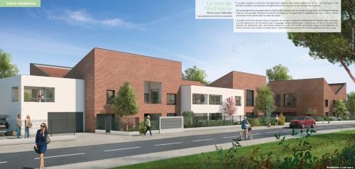 Appartements neufs Lalande référence 5241