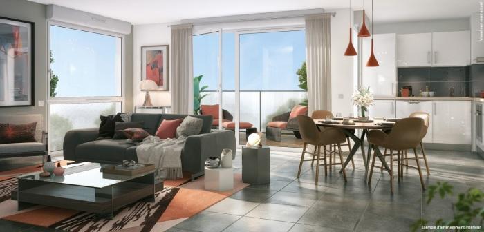Appartements neufs Lalande référence 5241 : aperçu n°1