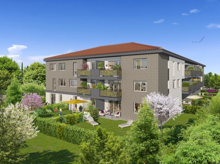 Appartements neufs Castanet-Tolosan référence 5308 : aperçu n°0