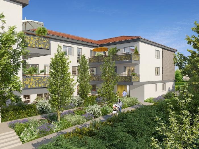 Appartements neufs Castanet-Tolosan référence 5308 : aperçu n°3