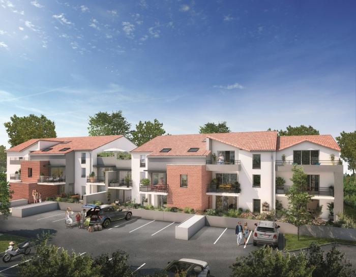 Appartements neufs Mondonville référence 5108 : aperçu n°0