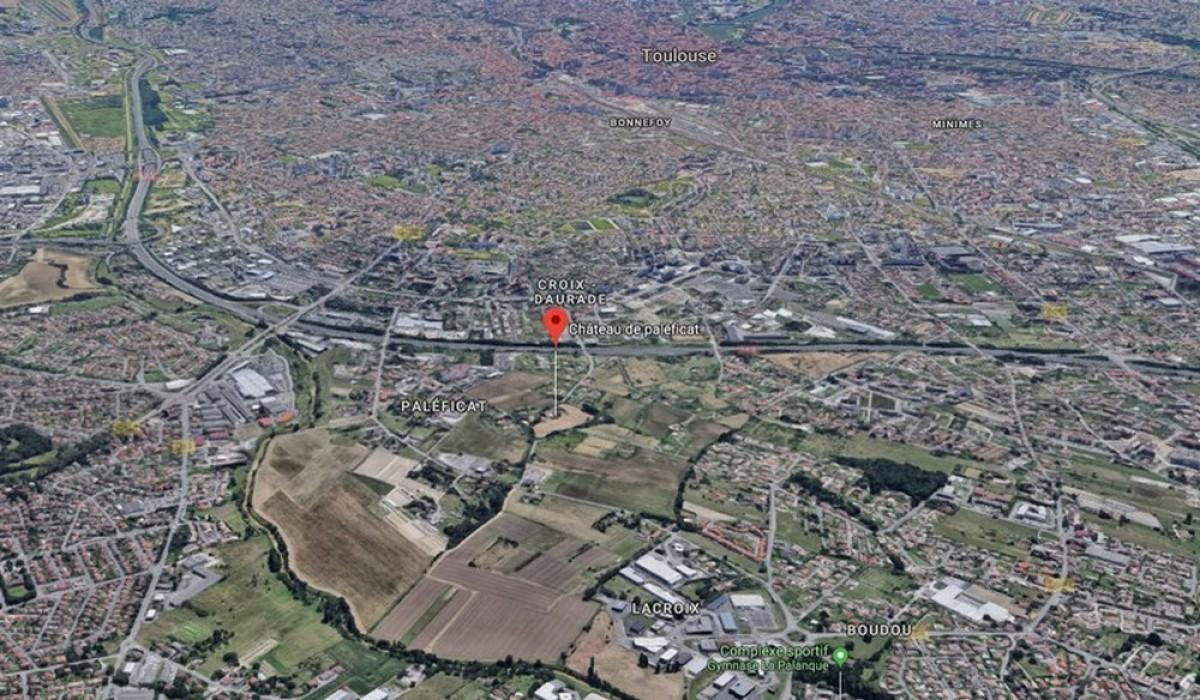 quartier paleficat toulouse - Une aérienne sur le quartier du Paléficat à Toulouse