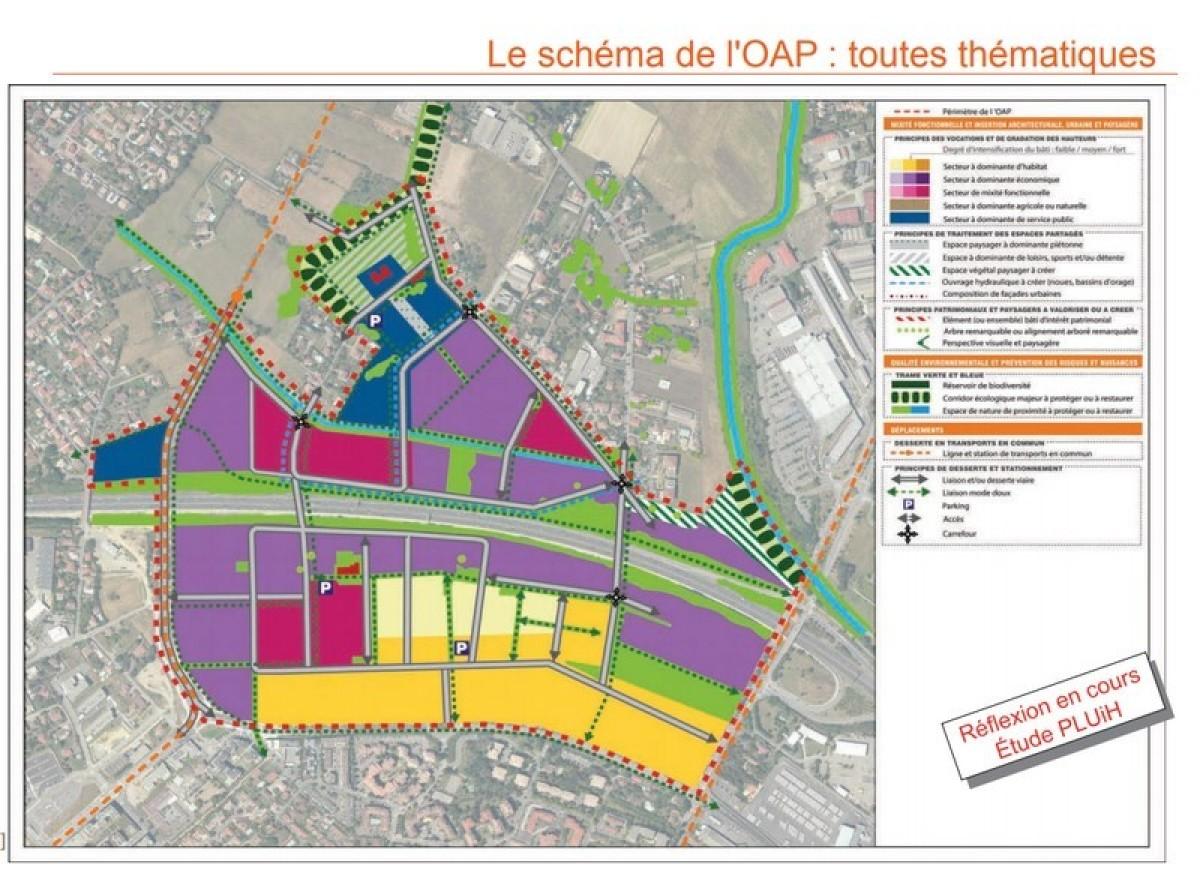 quartier paleficat toulouse - Les étapes d'évolution du quartier de Paléficat à Toulouse