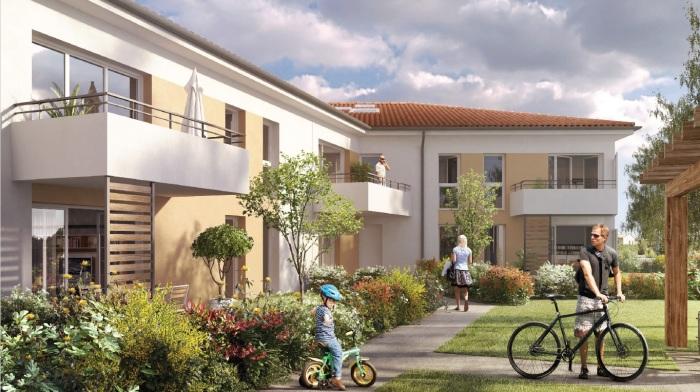 Appartements neufs Saint-Orens-de-Gameville référence 5357 : aperçu n°0