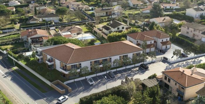 Appartements neufs Saint-Orens-de-Gameville référence 5357 : aperçu n°2