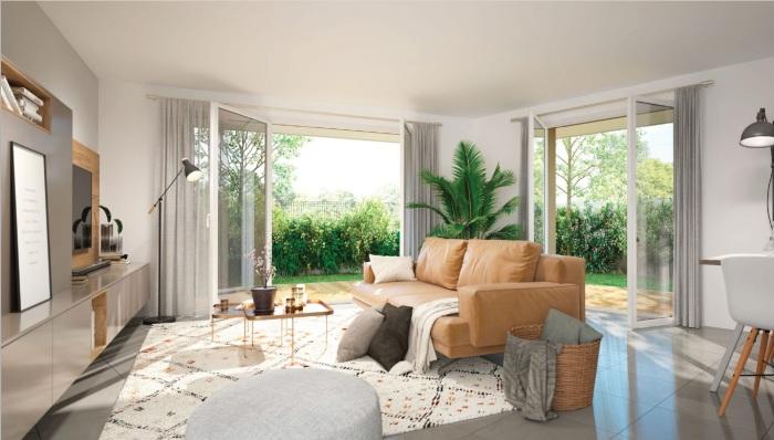 Appartements neufs Saint-Orens-de-Gameville référence 5357 : aperçu n°1