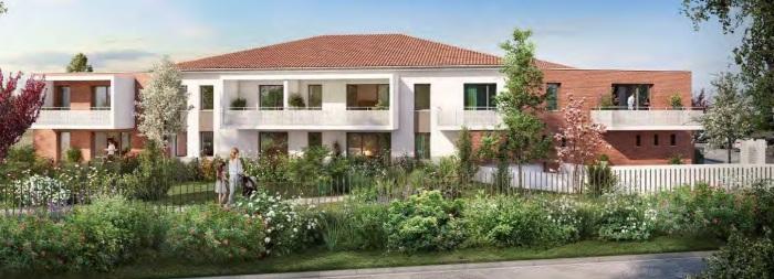 Appartements neufs Mondonville référence 5059 : aperçu n°3