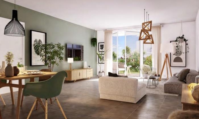 Appartements neufs Mondonville référence 5059 : aperçu n°1