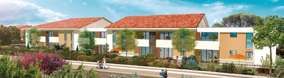 Imodeus Invest promoteur immobilier à Toulouse - la résidence La Couleur des Mots à Launaguet