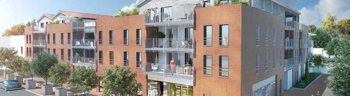 Imodeus Invest promoteur immobilier à Toulouse - La résidence Nova Leze