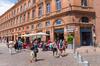 l'immobilier neuf à Toulouse après la crise du Covid-19 - La place du Capitole à Toulouse en après-midi