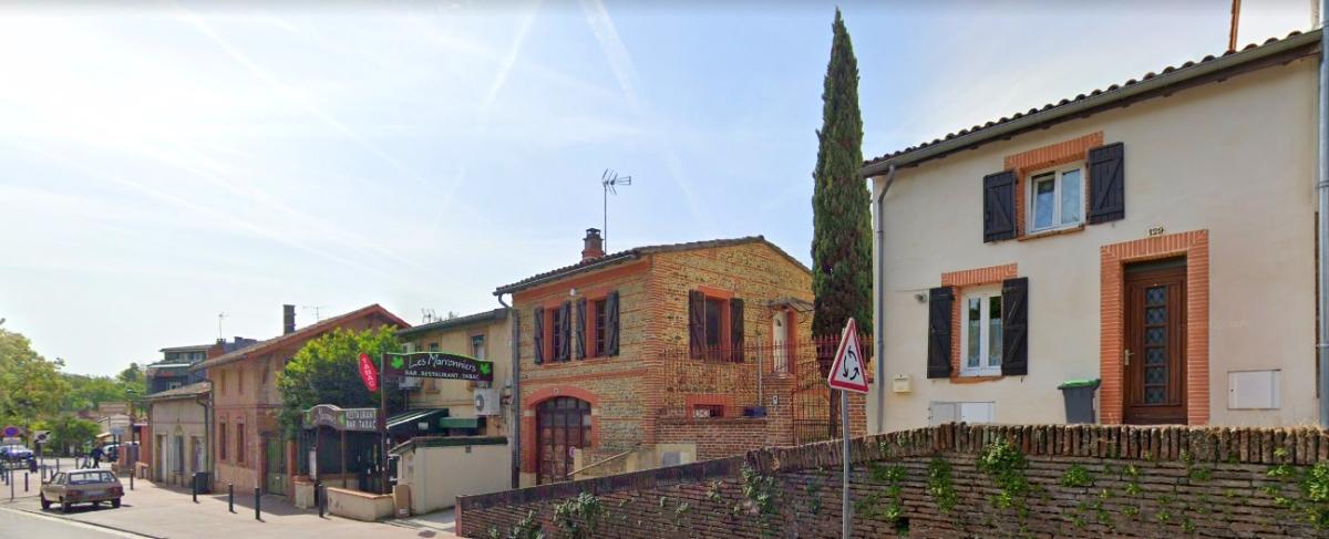 Programme immobilier neuf Saint-Martin-du-Touch - vue sur une rue ancienne